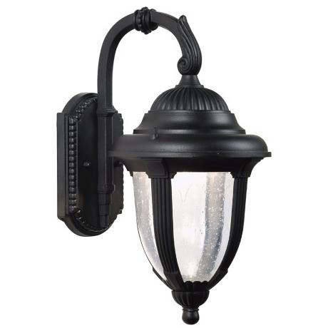 """Casa Sierra 14 1/2"""" High Black Outdoor Wall Light - Style # 45729 with Expensive Outdoor Wall Lighting (Image 2 of 10)"""