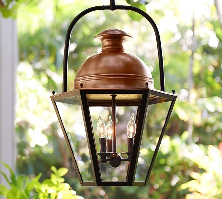 Case Indoor/outdoor Pendant | Pottery Barn intended for Indoor Outdoor Hanging Lights (Image 3 of 10)