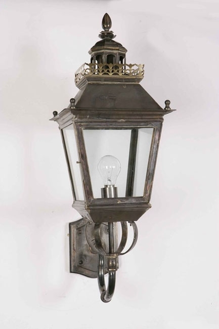 Chateau Replica Victorian Period Outdoor Wall Light Solid Brass 502 Regarding Victorian Outdoor Wall Lighting (View 2 of 10)