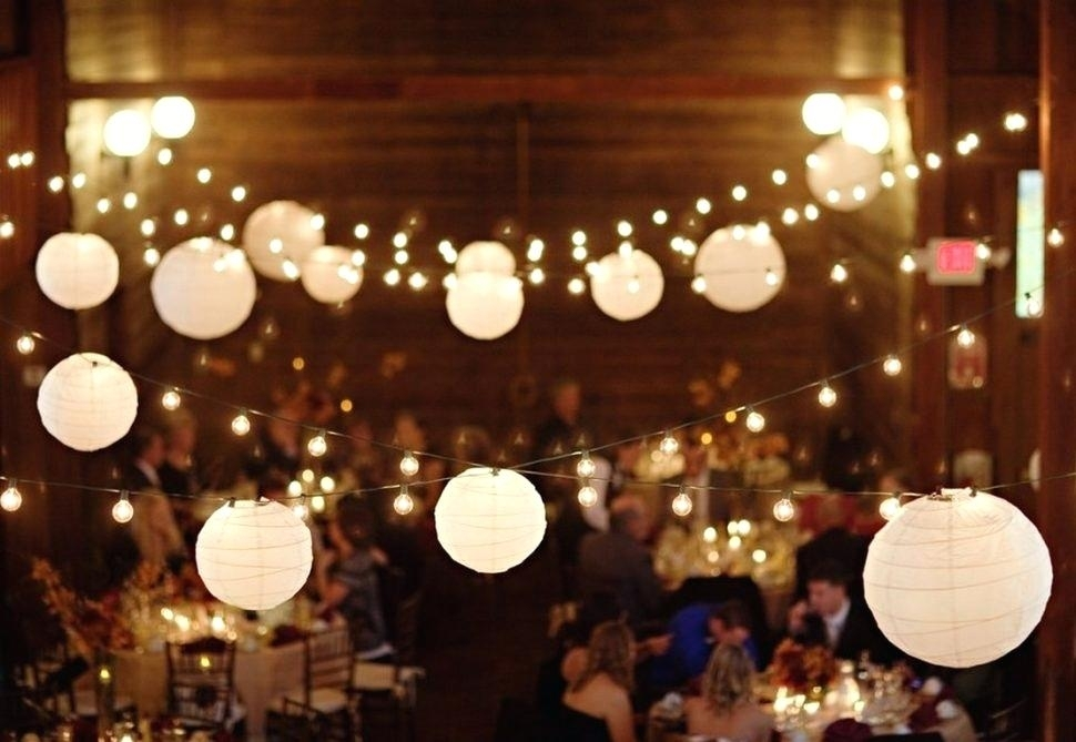 Chinese Lanterns String Lights Up Paper Battery Operated Party Within Outdoor Hanging Nylon Lanterns (View 9 of 10)
