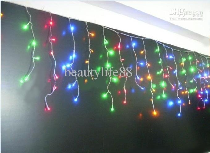 Christmas Decoration Hanging Lantern Light Bar / Curtain Light Intended For Outdoor Hanging Icicle Lights (View 6 of 10)