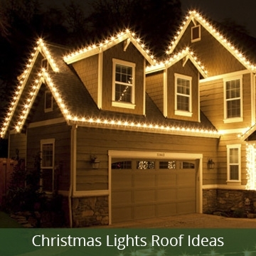 Christmas Lights pertaining to Hanging Outdoor Christmas Lights In Roof (Image 2 of 10)