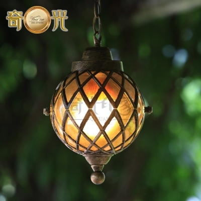 Classical Europe Style Pergola Hanging Lamp Outdoor Pendant Lamp With Outdoor Hanging Gazebo Lights (View 3 of 10)
