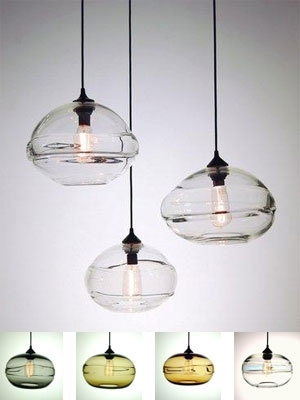 Clear Glass Lamp Table - Indoor & Outdoor Lighting - Compare with regard to Outdoor Hanging Bar Lights (Image 3 of 10)