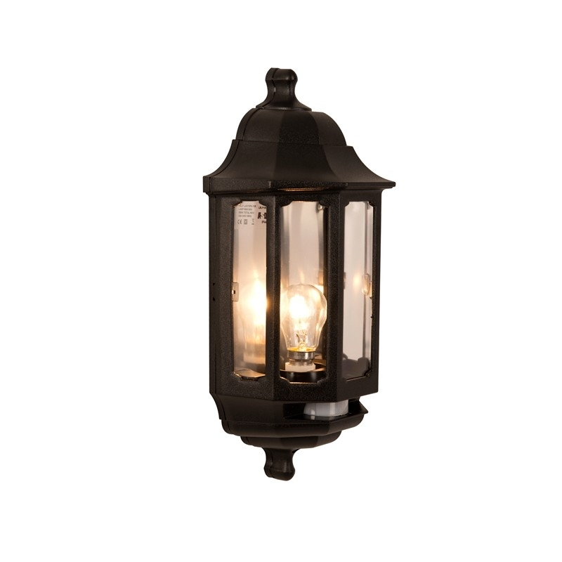 Coach Half Lantern With Pir - Lighting Direct in Half Lantern Outside Wall Lights (Image 3 of 10)