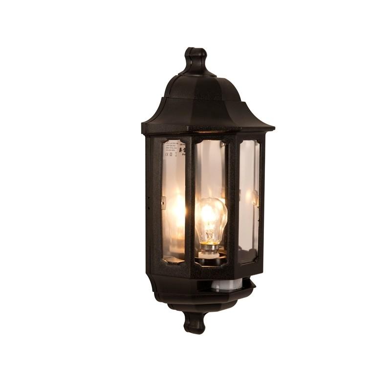 Coach Half Lantern With Pir – Lighting Direct In Half Lantern Outside Wall Lights (View 3 of 10)