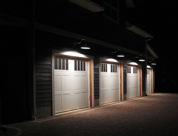 Contemporary Outdoor Decoration With Outdoor Wall Mounted Garage with regard to Outdoor Wall Garage Lights (Image 3 of 10)