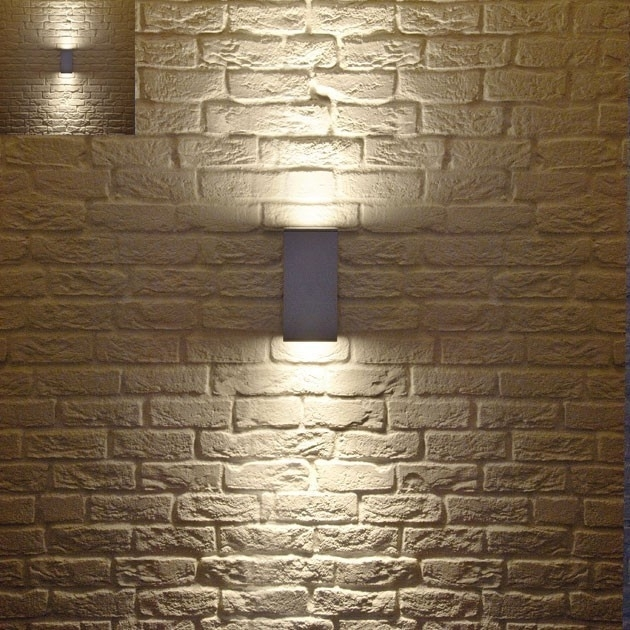 Contemporary Outdoor Lighting Exterior Lighting And Privacy Modern inside Elegant Outdoor Wall Lighting (Image 1 of 10)