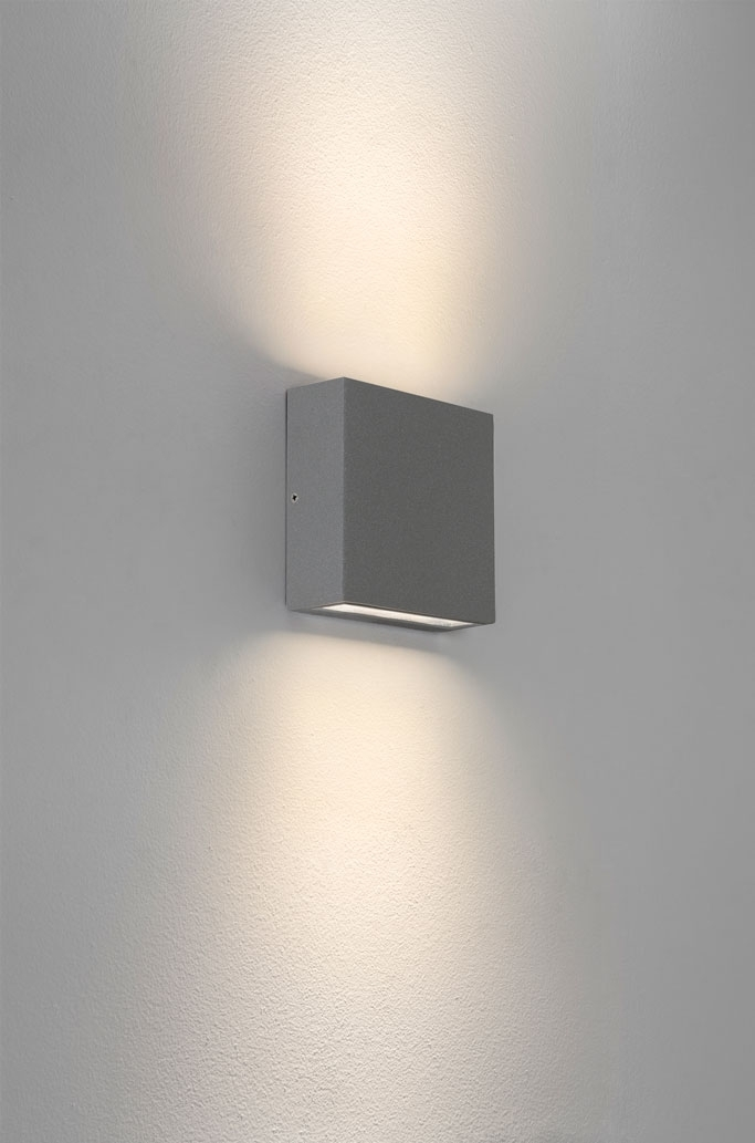 Contemporary Outdoor Up Down Lights - Coryc within Outdoor Up Down Wall Led Lights (Image 3 of 10)
