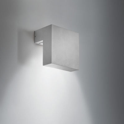 Contemporary Wall Light / Outdoor / Aluminum / Led - Sampa D - Bel in Square Outdoor Wall Lights (Image 4 of 10)