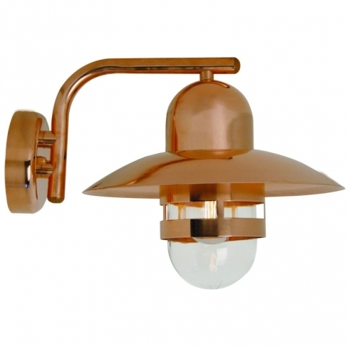 Copper Outdoor Wall Light for Copper Outdoor Wall Lighting (Image 4 of 10)