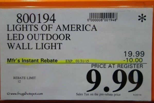 Costco Outdoor Lights Outdoor Lighting Cost Outdoor Landscape with regard to Outdoor Wall Lighting At Costco (Image 4 of 10)