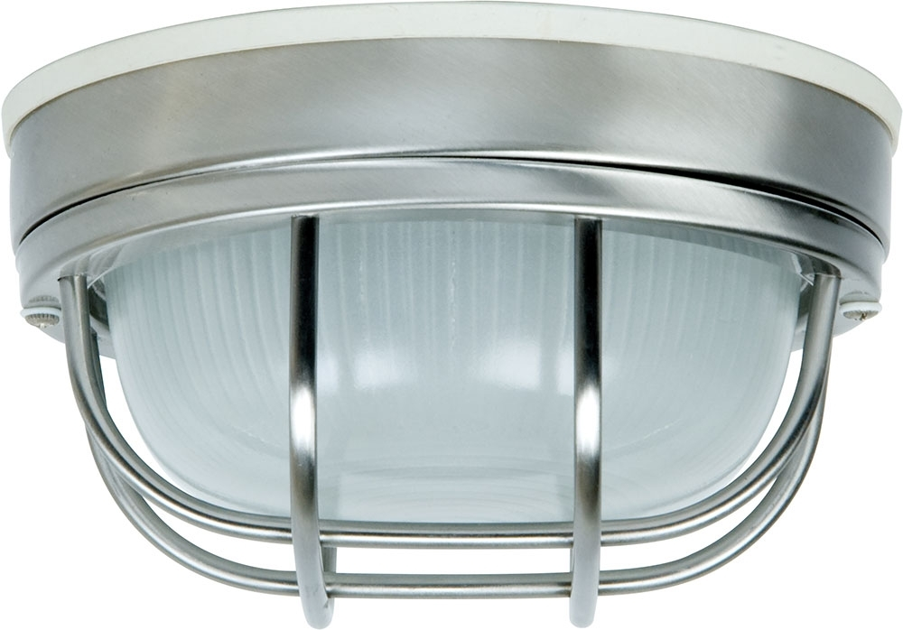 Craftmade Z394-56 Bulkhead Stainless Steel Outdoor Small Ceiling regarding Outdoor Wall Ceiling Lighting (Image 3 of 10)