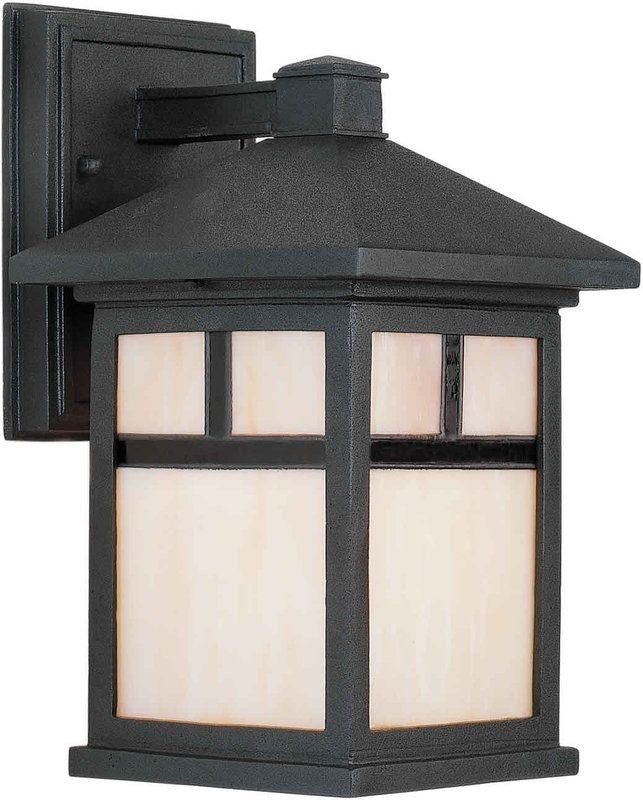 Craftsman Outdoor Lighting | Tv Outdoor Lighting | Pinterest with Craftsman Outdoor Wall Lighting (Image 2 of 10)