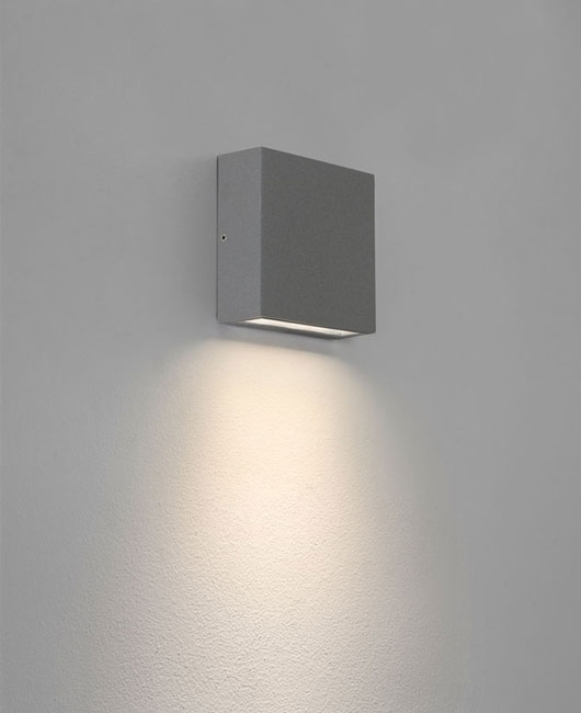 Creative Of Square Outdoor Wall Light Contemporary Outdoor Wall within Outdoor Wall Down Lighting (Image 6 of 10)