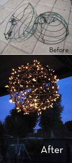 Creative Outdoor Christmas Lights | Outdoor Christmas, Christmas with Outdoor Hanging Basket Lights (Image 2 of 10)