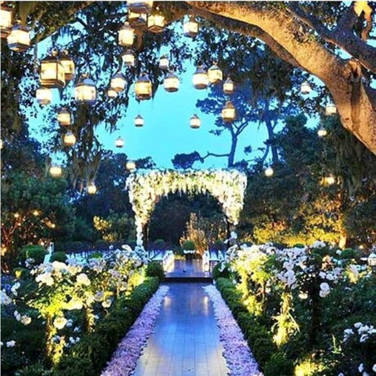 Creative Outdoor Hanging Lanterns For Wedding Party - Artenzo regarding Outdoor Hanging Lanterns For Wedding (Image 7 of 10)