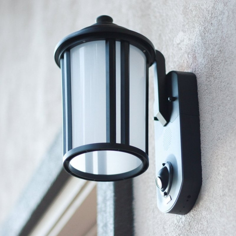 Featured Photo of Outdoor Wall Lights With Security Camera