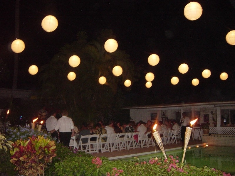 Decorating With Paper Lanterns | The Posh Event pertaining to Outdoor Hanging Party Lanterns (Image 5 of 10)