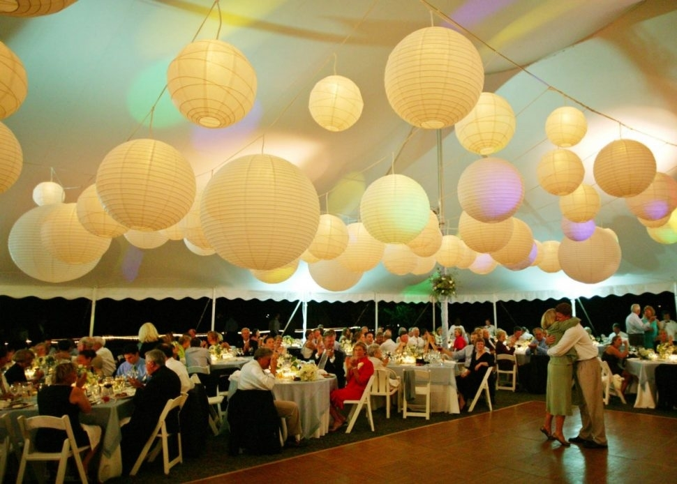 Decoration : Big Paper Lanterns Buy Chinese Lanterns Party Paper within Outdoor Hanging Nylon Lanterns (Image 5 of 10)