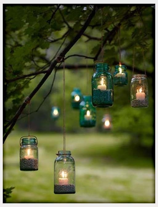 Decorations, Lanterns Hanging From Trees For Outdoor Wedding inside Outdoor Hanging Lanterns for Wedding (Image 8 of 10)
