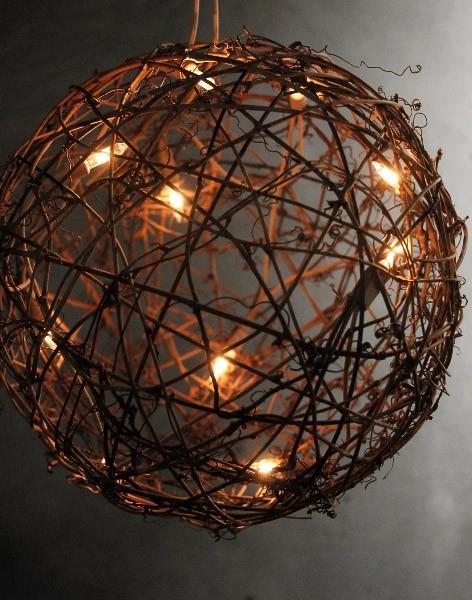 Decorative Hanging Light Ball ~ Wanker For . regarding Outdoor Hanging Sphere Lights (Image 3 of 10)