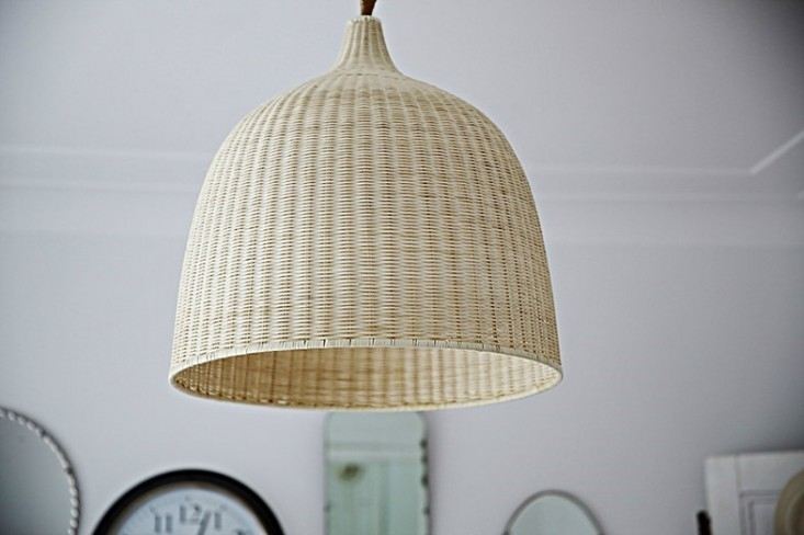 Design Sleuth 6 Summery Natural Fiber Pendant Lights Remodelista regarding Outdoor Hanging Wicker Lights (Image 4 of 10)