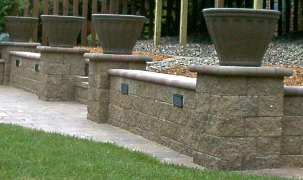 Designer Retaining Outdoor Wall Lighting Fixtures: 13 Awesome for Outdoor Block Wall Lighting (Image 6 of 10)