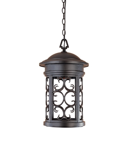 Designers Fountain 31134-Orb Ellington 1 Light 11 Inch Oil Rubbed intended for Oil Rubbed Bronze Outdoor Hanging Lights (Image 3 of 10)