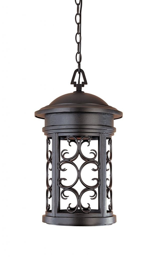 Designers Fountain Orb Ellington Ds Hanging Lanterns Oil Photo With within Outdoor Hanging Lanterns From Canada (Image 4 of 10)