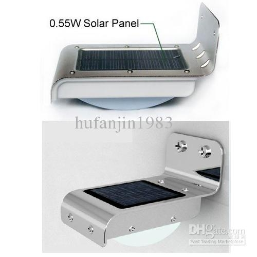 Discount Pir Solar Powered Wall Lamp 16 Led/leds Lights Wall Light inside Pir Solar Outdoor Wall Lights (Image 4 of 10)