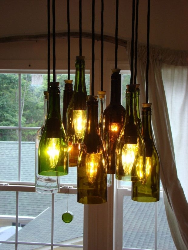 Diy Hanging Light Fixtures – Sl Interior Design Inside Making Outdoor Hanging Lights From Wine Bottles (View 7 of 10)