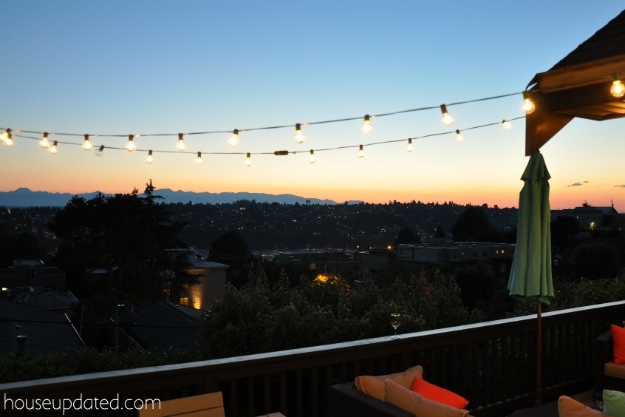 Diy Posts For Hanging Outdoor String Lights - House Updated intended for Outdoor Hooks For Hanging Lights (Image 2 of 10)