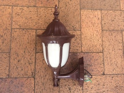 Domo Coach Wall Light | Outdoor Lighting | Gumtree Australia With Regard To Outdoor Wall Lights At Gumtree (View 2 of 10)