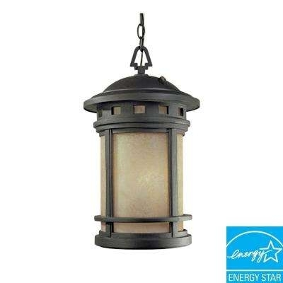 Dusk To Dawn - Fluorescent - Outdoor Ceiling Lighting - Outdoor with Outdoor Hanging Oil Lanterns (Image 5 of 10)