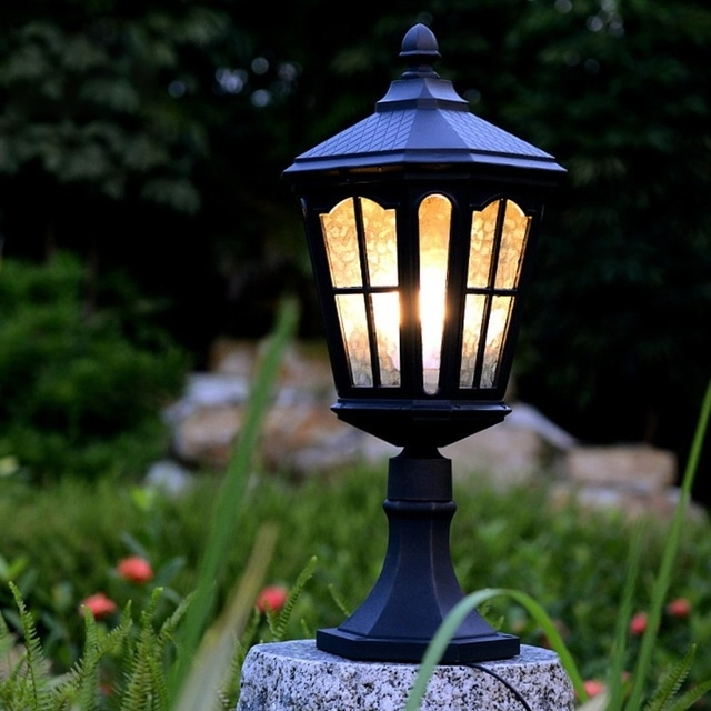 E26 / 27 40W Garden Villa Stigma 85 260V European Style Outdoor Wall inside Outdoor Wall and Post Lighting (Image 3 of 10)