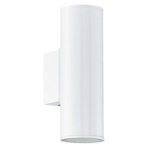 Eglo 94101 Led Outdoor Wall Light Riga / 2 X 3W / White | Ebay In 200Mm Eglo Riga Outdoor Led Wall Lighting (Photo 5 of 10)