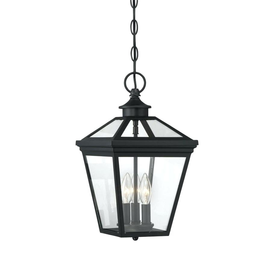 Electric Hanging Lanterns Chain Mount Outdoor Lantern Rustic With Electric Outdoor Hanging Lanterns (Photo 7 of 10)