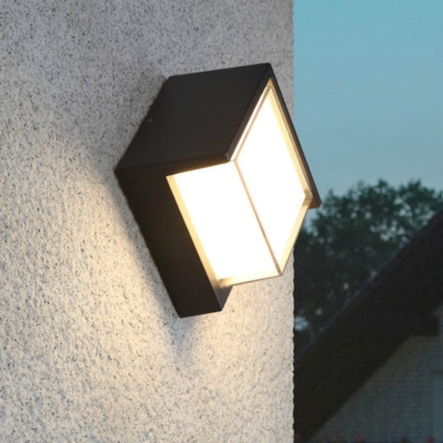 Elegant Outdoor Wall Lighting Pertaining To Best Lights Top 10 Ultra Within Vinyl Outdoor Wall Lighting (Photo 5 of 10)