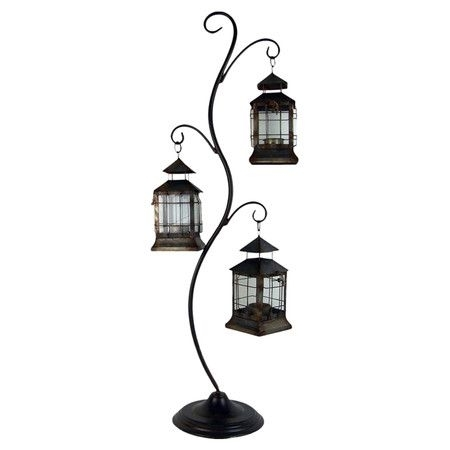 Ellinor Hanging Lanterns With Stand | Gifts For Kandis | Pinterest Pertaining To Outdoor Hanging Lanterns With Stand (View 5 of 10)