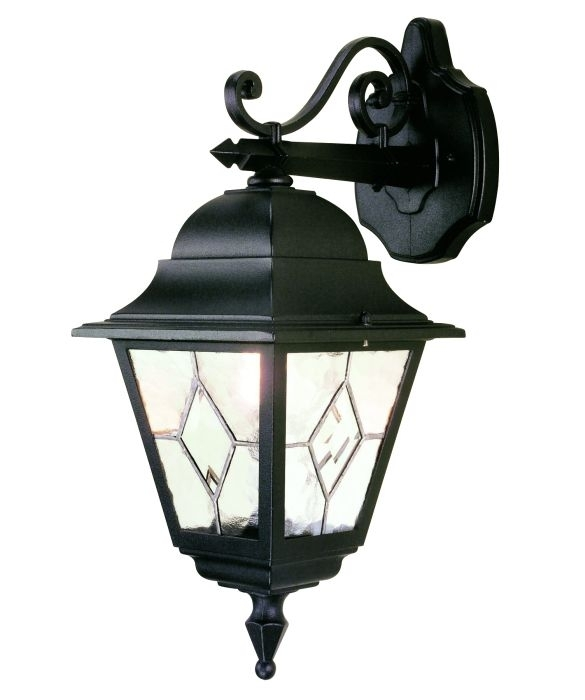 Elstead Norfolk Nr2 | Hand Leaded Outdoor Wall Lights, Outdoor Inside Hanging Outdoor Security Lights (Photo 7 of 10)