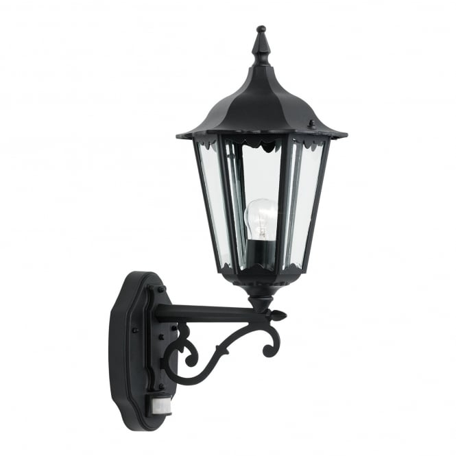 Endon Lighting Burford Matt Black 1Lt Outdoor Wall Light With Clear Intended For Endon Lighting Outdoor Wall Lanterns (Photo 4 of 10)