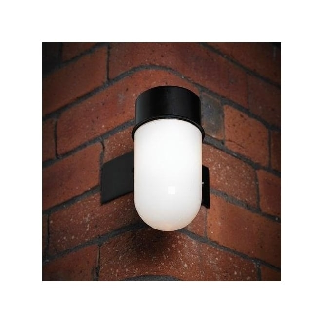 Endon Lighting El-40088 Enluce Single Light Outdoor Corner Bracket for Outdoor Corner Wall Lighting (Image 5 of 10)