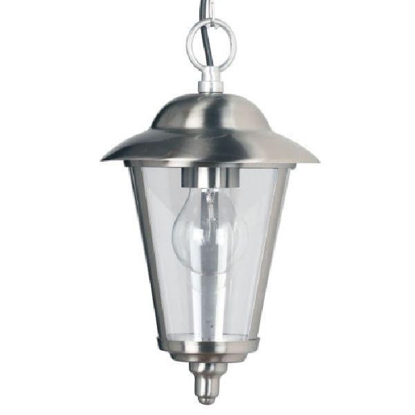 Endon Yg-865-Ss Porch Lantern| Outdoor Lighting Ip20 Ceiling Porch within Endon Lighting Outdoor Wall Lanterns (Image 9 of 10)