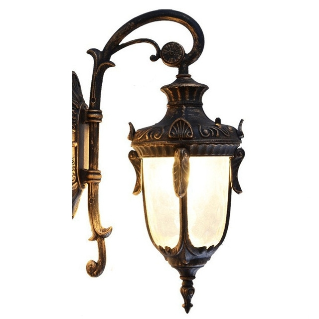 European Outdoor Lights Waterproof Wall Lights American Vintage Wall inside Antique Outdoor Wall Lighting (Image 9 of 10)