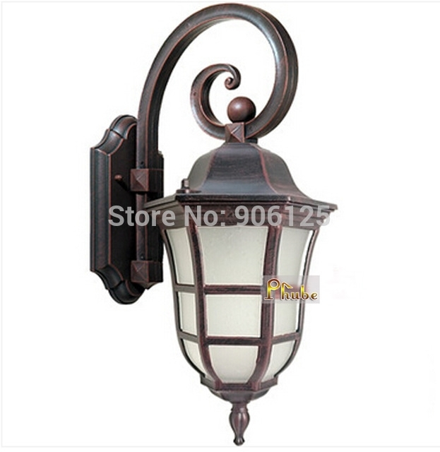 European Outdoor Waterproof Wall Lamp Wall Light Used In Courtyard For European Outdoor Wall Lighting (Photo 2 of 10)