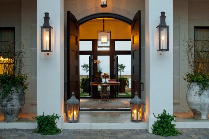 Excellent Large Sconces Ensconced Definition Wall Lantern Lamp And In Big Outdoor Wall Lighting (Photo 3 of 10)