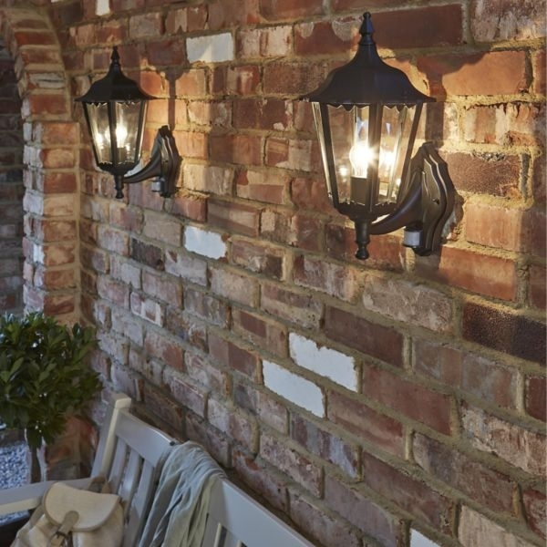 Exciting Wall Mount Outdoor Light Exterior Garage Lights Hanging in Hanging Outdoor Lights on Brick (Image 3 of 10)