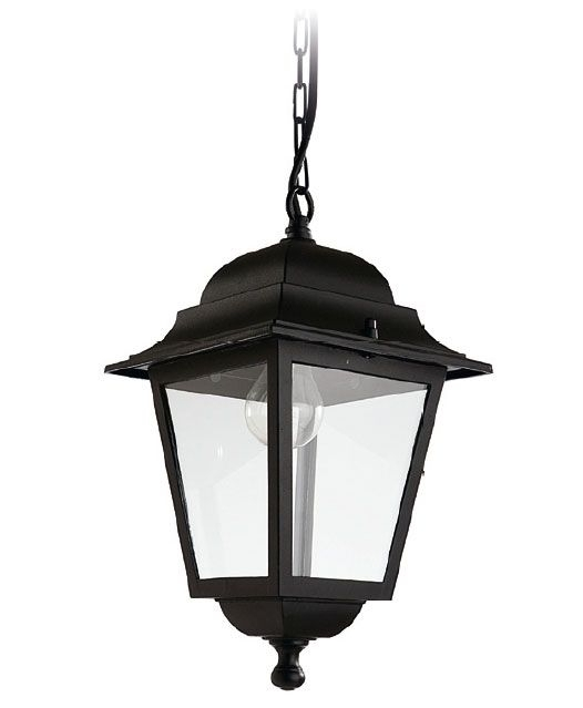 Exterior Hanging Coach Lantern | New Outdoor Pendant: Olimpo Black With Regard To Outdoor Hanging Coach Lanterns (View 3 of 10)