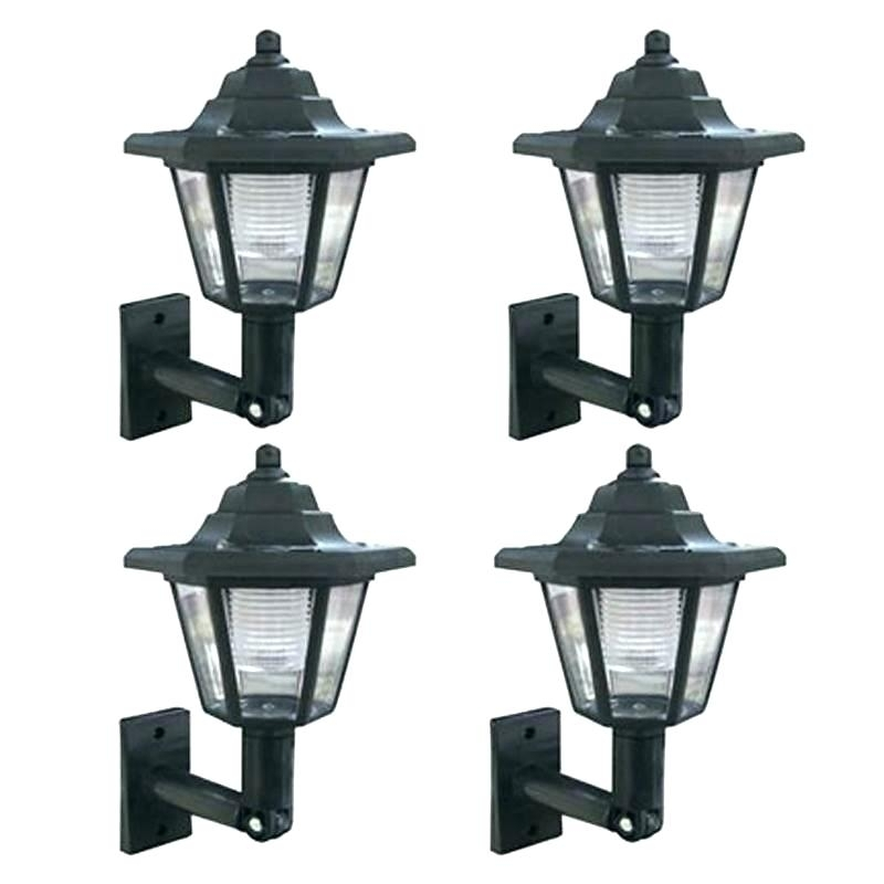 Exterior Solar Wall Lights S Outdoor Wall Mounted Solar Lights for Outdoor Wall Solar Lighting (Image 3 of 10)
